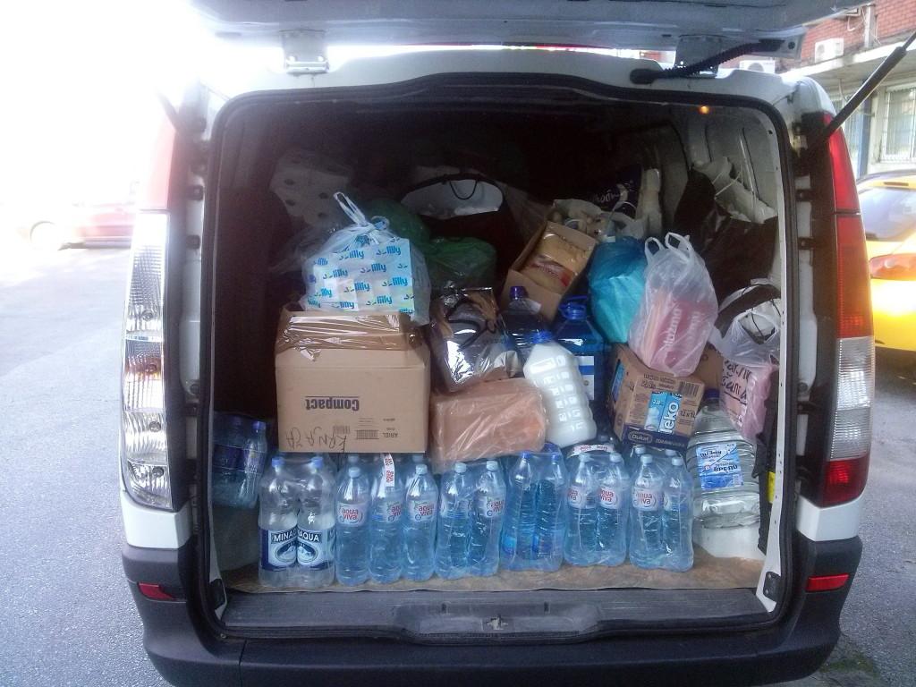 Однета хуманитарна помоћ у Смедеревску Паланку