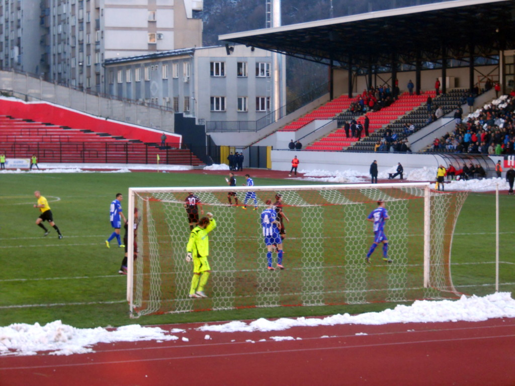 ФК СЛОБОДА – ОФК БЕОГРАД 0-2 (0-1)