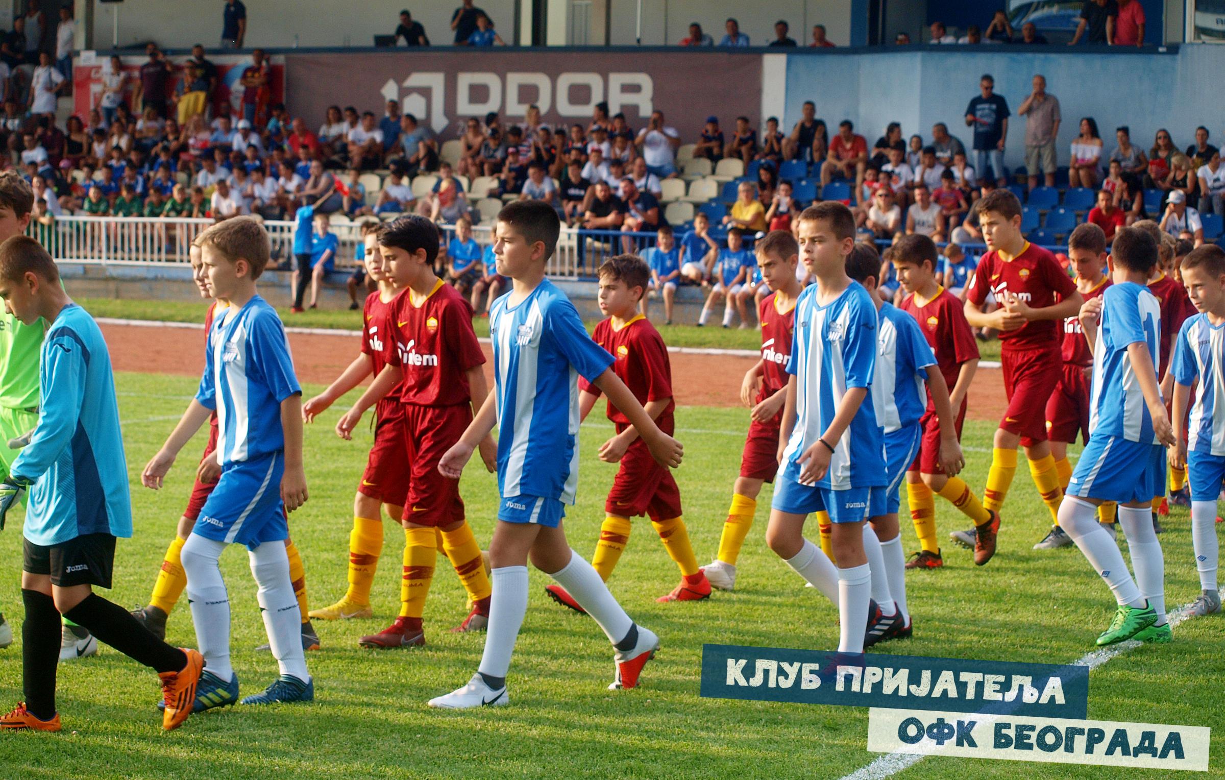 Отворен турнир на Омладинцу. ОФК Београд – Рома 0:0