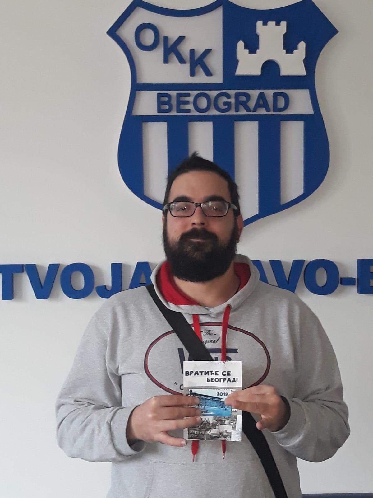 Marko Đurković Oskar – fizio OKK. Deset godina u klubu!