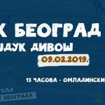 Трећи пријатељски сусрет на програму 09.02. Противник – Хајдук Дивош