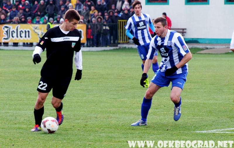 ФК ДОЊИ СРЕМ – ОФК БЕОГРАД 1-1 (0-0)