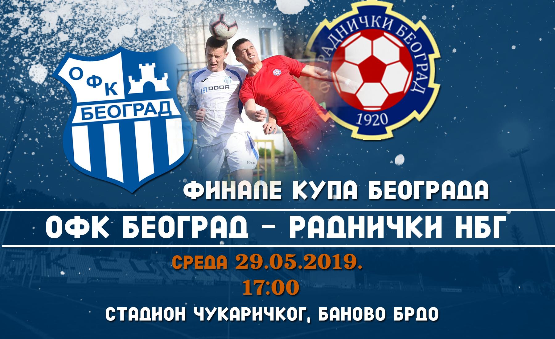 ФИНАЛЕ КУПА. Време је за трофеј, Београде!