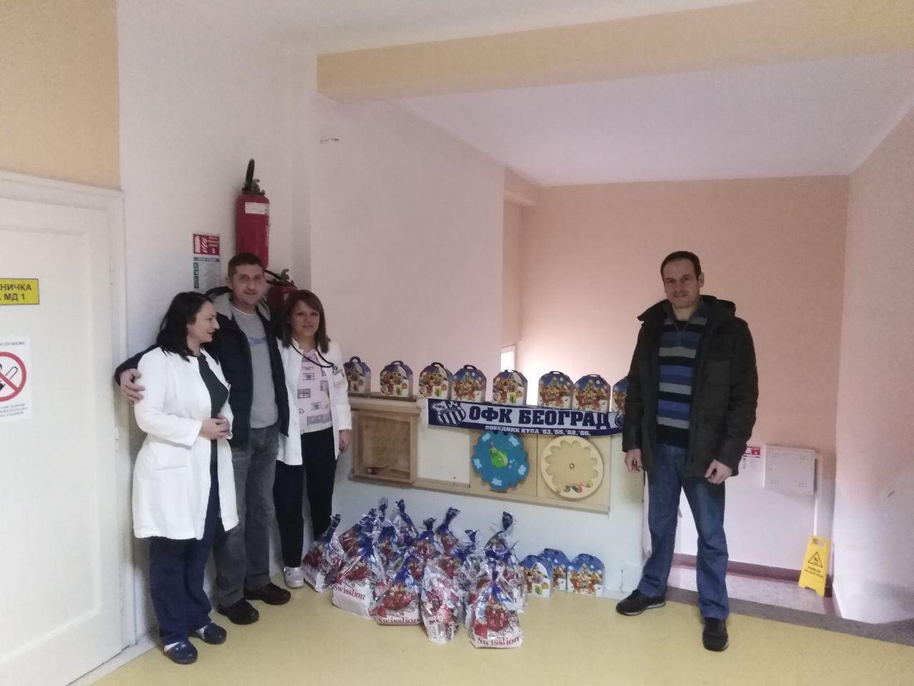 """KPO posetio dečiju bolnicu """"Olga Dedijer"""" na Savindan"""