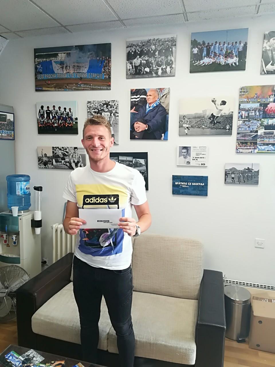 Петар Планић, бивши фудбалер ОФК Београда постао члан КПО