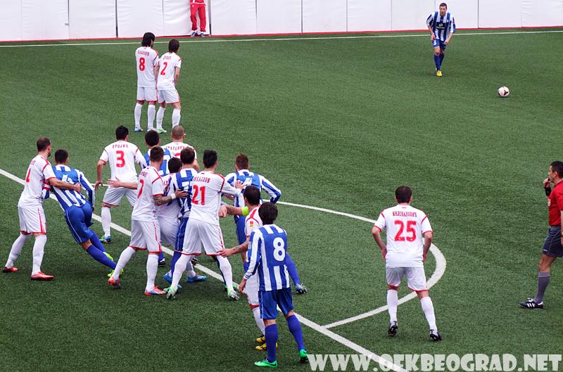 ФК Вождовац – ОФК Београд 1-0 (1-0)